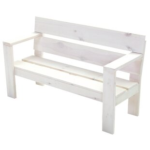 Lyell Wooden Bench By Brambly Cottage