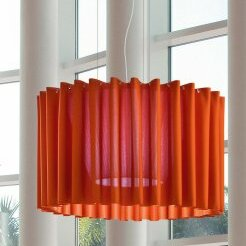 Burdett 1-Light Semi Flush Mount by Orren Ellis