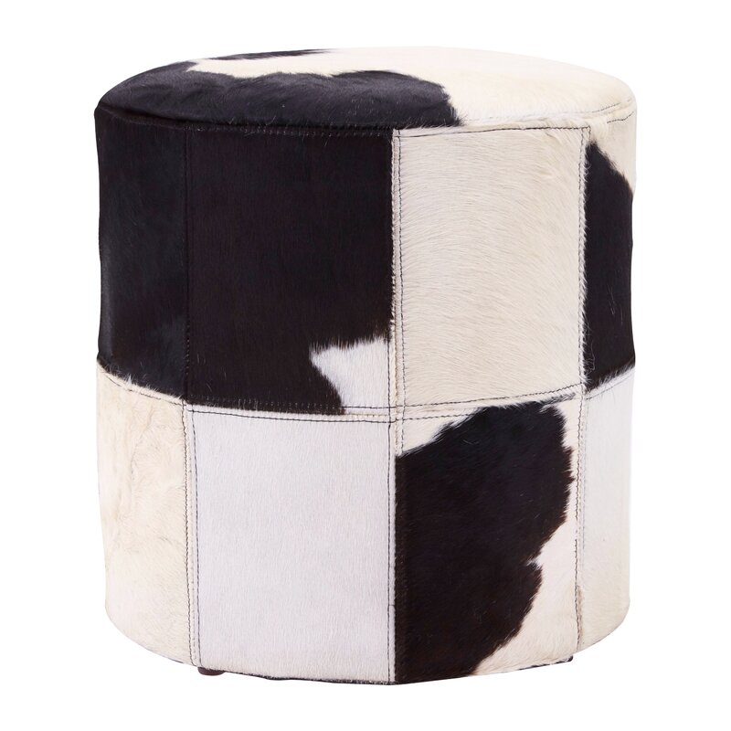Laurel Foundry Pouf Murtaugh Aus Echtleder Wayfairde Magnificent Urban Foundry Pouf