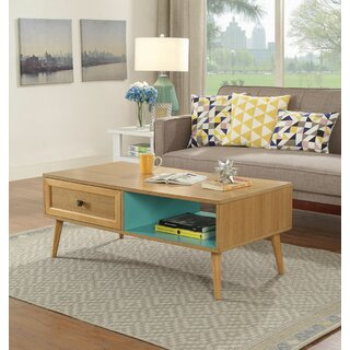 Ampezo Coffee Table with Storage by Brayden Studio SKU:DA498415 Details