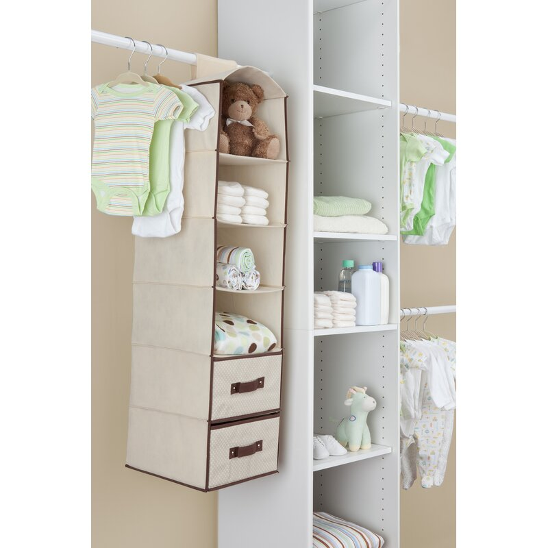 Complete Nursery 3 Piece 6 Compartment Hanging Organizer Set By Delta