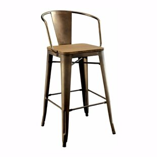 17 Stories Carlo Counter Dining Chair (Set of 2)