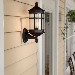 Derosier 1-Light Outdoor Wall lantern