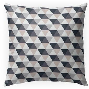 Ebern Designs Moroni Cotton Indoor Outdoor Floral Pillow Wayfair