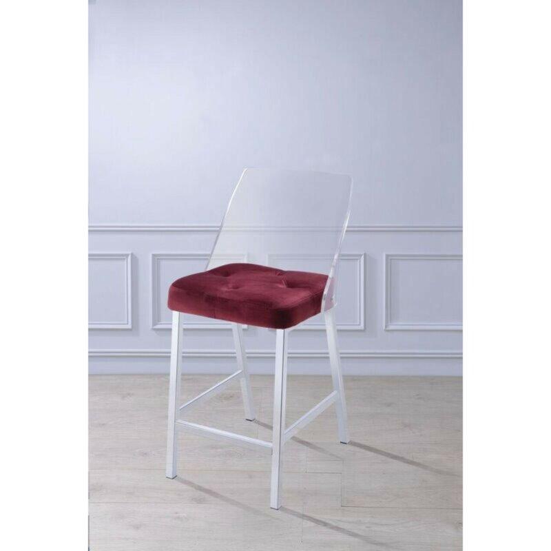 White Cane Outdoor Furniture, Brayden Studio Bremond Armless Counter Height Dining Chair Wayfair
