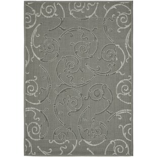 Alberty Anthracite / Light Gray Indoor/Outdoor Rug