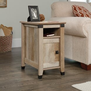 Online Reviews Ellicott Mills End Table With Storage by Andover Mills