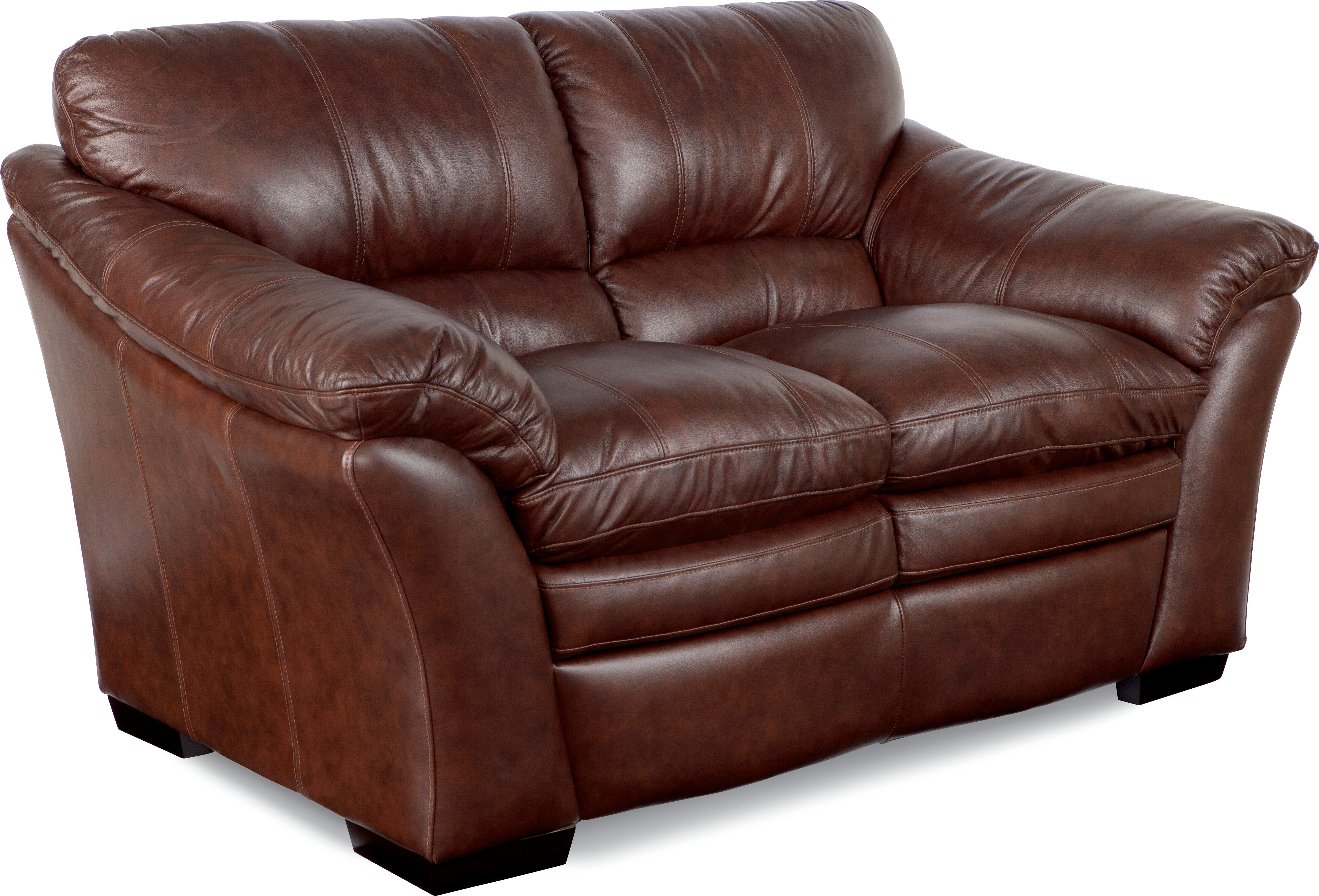 style ekornes leather loveseat percival chairish tan vintage product