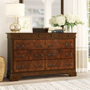 Johnston 8 Drawer Dresser by Birch Lane™ Heritage Top Reviews