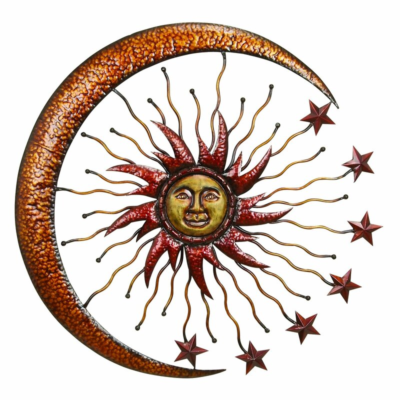 Sun and Star Outdoor Wall Décor You\'ll Love | Wayfair