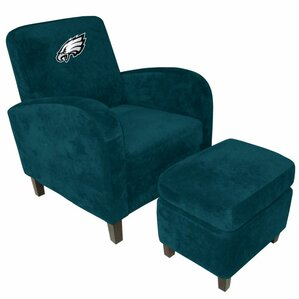 NFL Den Armchair and Ottoman by Imperial