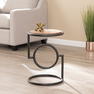 Hutchins End Table by Wrought Studio