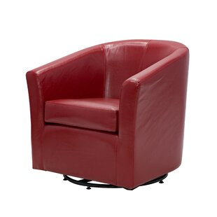 Buy luxury Maughan Swivel Barrel Chair by Ivy Bronx Reviews (2019) & Buyer's Guide
