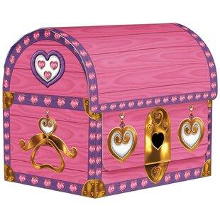 Treasure Chest Favor Decorative Box Disposable Party Favors