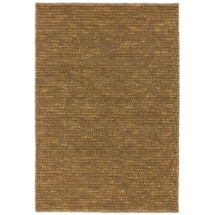 Sindy Hand-Woven Brown Rug by Norden Home