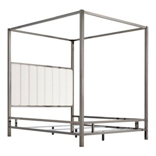 Willa Arlo Interiors Wicklund Upholstered Canopy Bed