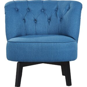 Santillan Swivel Slipper Chair by Varick Gal..