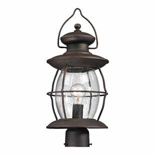 Breakwater Bay Crick 1 Light Outdoor Post Lantern