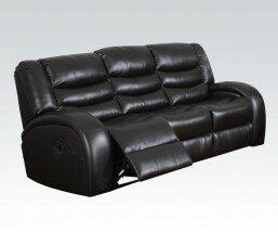 Red Barrel Studio Makris Motion Leather Reclining Sofa