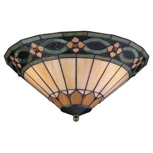 Compare Oakhill 2-Light Bowl Ceiling Fan Light Kit By Charlton Home
