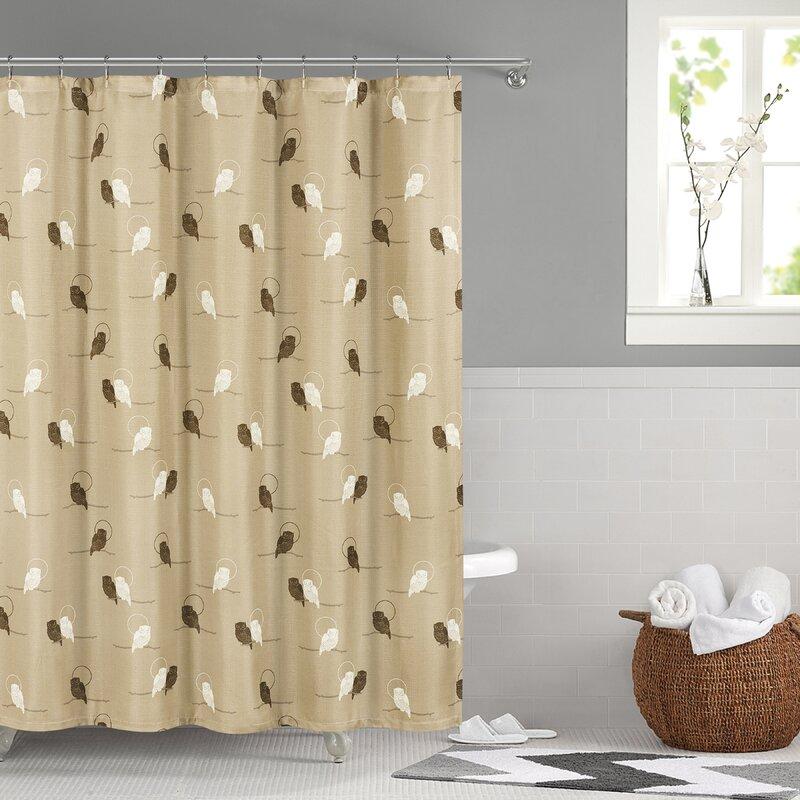 Winston Porter Shower Curtains You\'ll Love | Wayfair