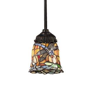 Astoria Grand Loomis 1-Light Bell Pendant