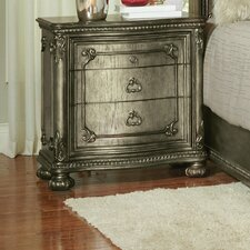 Liola 3 Drawer Nightstand by Astoria Grand