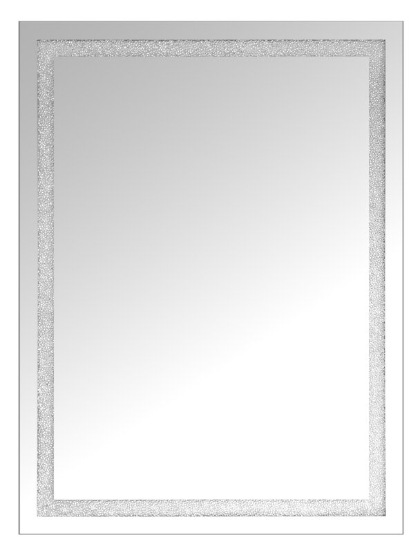 Crystal Wall Mirror selectionschaumont rectangle beaded crystal wall mirror | wayfair