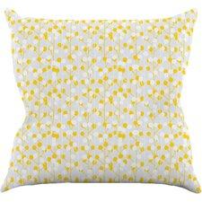 Lemon Drop by Julie Hamilton Throw Pillow
