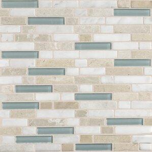 stone radiance random sized slate mosaic tile in whisper green