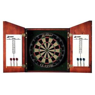 Union Jack Dartboard Cabinet Set by Accudart