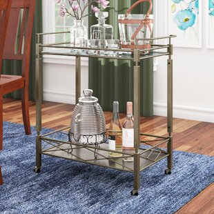 Tepper Bar Cart by Charlton Home