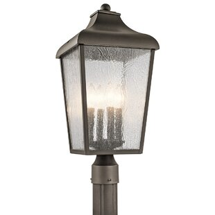 Read Reviews Harpole 1-Light Outdoor Post Light By Three Posts