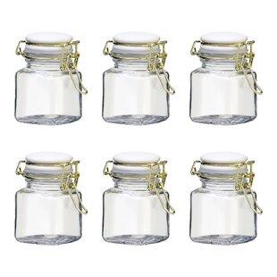 Best Reviews Grace Spice Jar Hermetic Preserving Spice Jar (Set of 6) ByWinston Porter