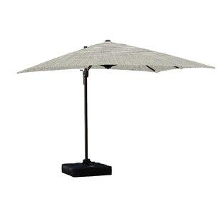 Jarod Lava 1' Square Cantilever Sunbrella Umbrella