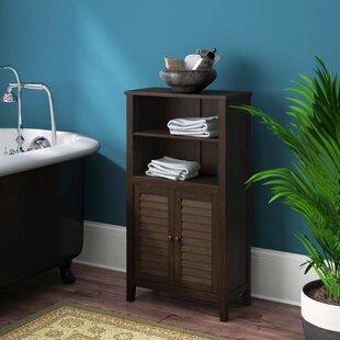 Perla Bamboo 50 X 92cm Bathroom Free-Standing Bathroom Cabinet By House Of Hampton