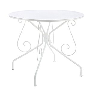 Fantine Steel Bistro Table By Fleur De Lis Living