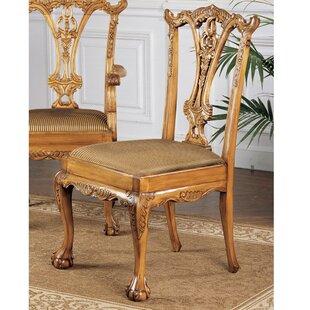 Design Toscano English Side Chair