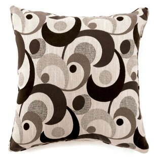 Straub Swirl Print Throw Pillow (Set of 2)