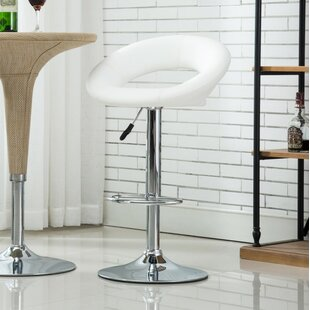 Bathford Adjustable Height Swivel Bar Stools Set of 2 by Orren Ellis
