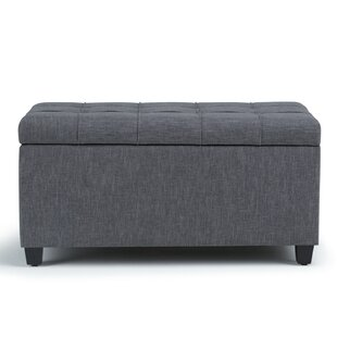 Charlton Home Burkholder Upholstered Storage Bench