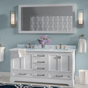 bathroom double sink cabinets.  Double Vanities You ll Love Wayfair