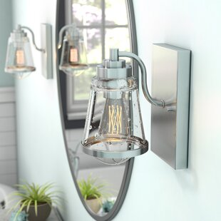 Crowder 1-Light Armed Sconce by Breakwater Bay