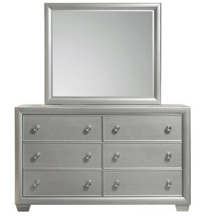 Willa Arlo Interiors Brinkworth 6 Drawer Dou..