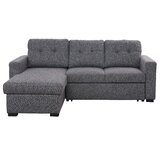 Sorelli 93.25 Reversible Sleeper Sectional by Latitude Run