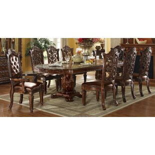 A&J Homes Studio Vendome Floral Carved Side Chair (Set of 2)