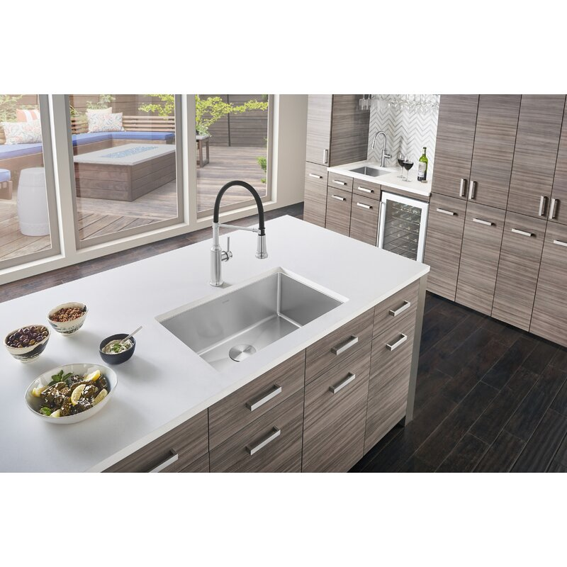 "Blanco Quatrus 28"" L x 18"" W Undermount Kitchen Sink"