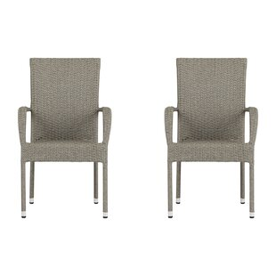 Shaelyn Stacking Garden Chair (Set Of 2) By Sol 72 Outdoor