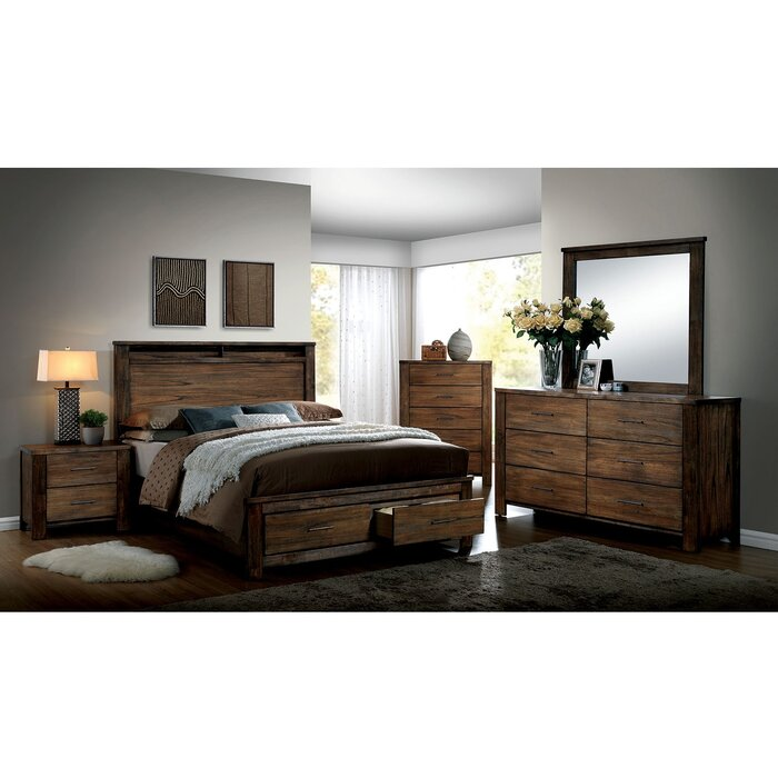Locklin Platform Configurable Bedroom Set