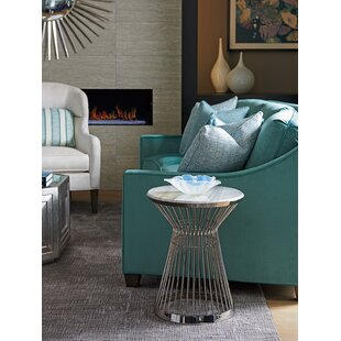 Ariana Martini Round End Table by Lexington
